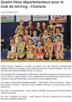 Ouest-France : Départemental individuel 2013